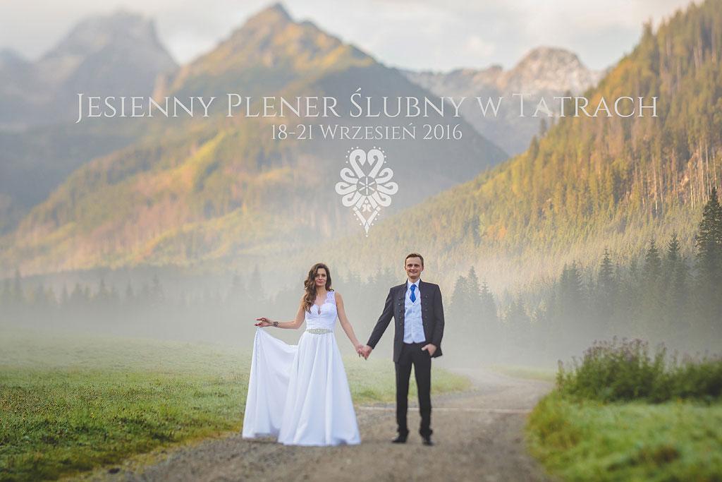 Sesja ślubna w górach, Fotografia ślubna Zakopane, Plener w Tatrach, Sesja ślubna Fotograf na wesele