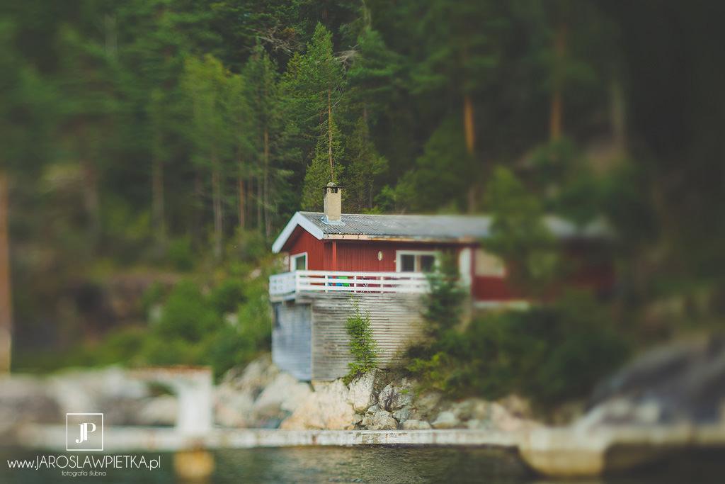 Sceneria na plener ślubny w Norwegii