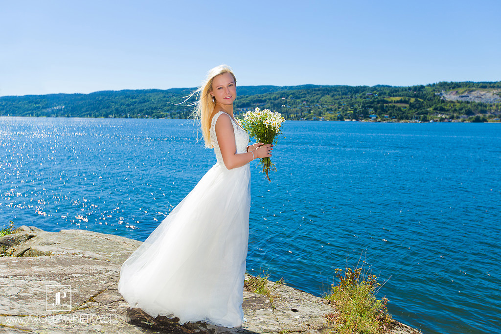 Panna Młoda, Sesja ślubna w Norwegii