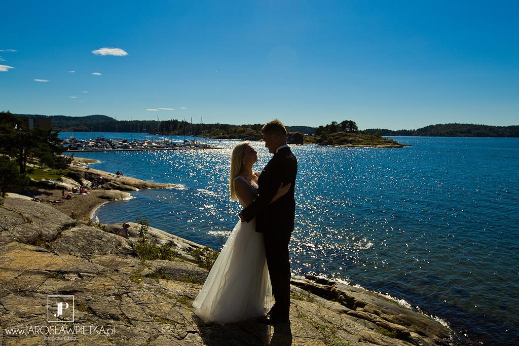 Sesja ślubna w Norwegii - Kasia i Lucjan