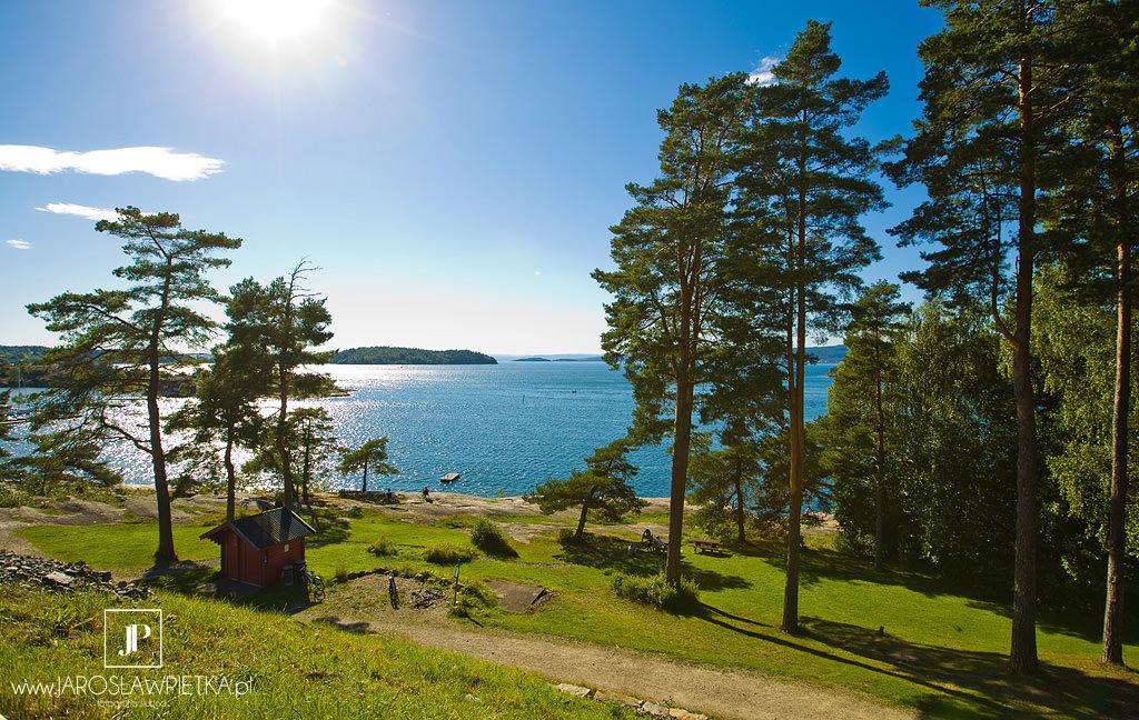 Okolice Oslo, Plener ślubny