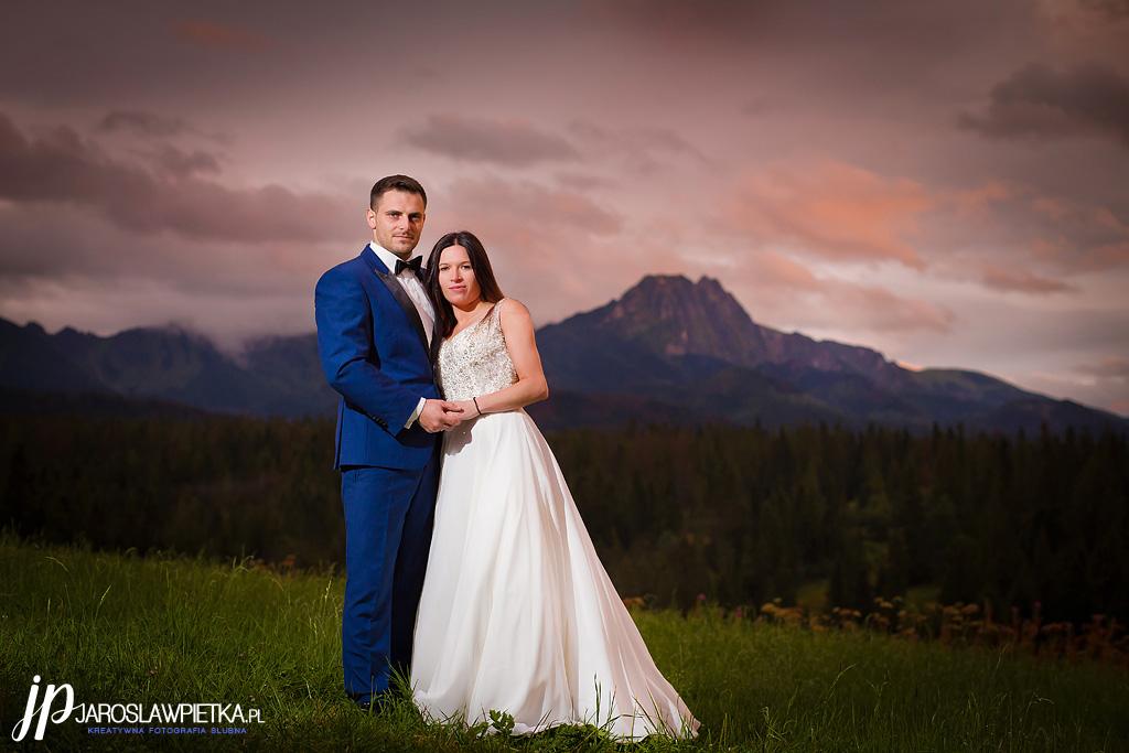 Plener ślubny w górach _Sesja ślubna w górach _ Plener ślubny w Tatrach