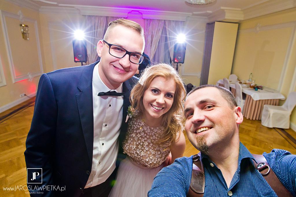 Reportaż ślubny - Pałac Otrębusy