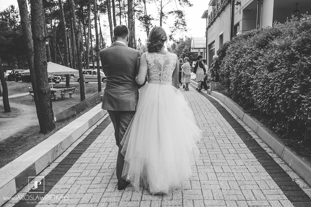 Ślub w plenerze nad Zegrzem