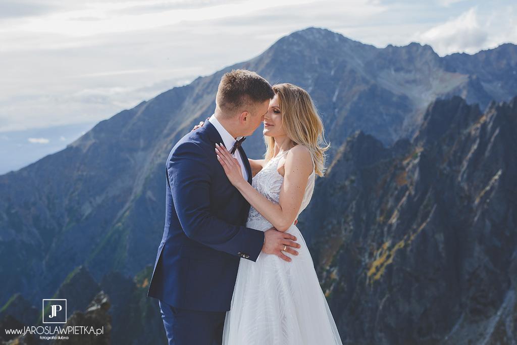 Plener ślubny w Tatrach , Wesele w Pałacu Noce i Dnie